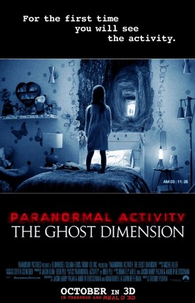 Paranormal Activity: The Ghost Dimension (2015)  (BR Rip)